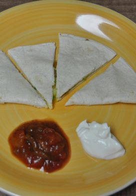 Yoga Night Quesadillas