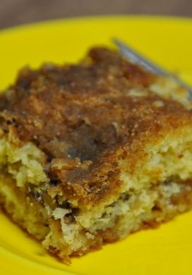 Mary Williams' Coffee Cake with Streusel