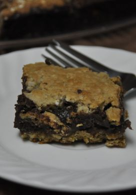 Fudge Oatmeal Bar