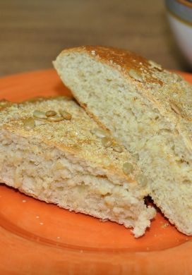 Wheat Germ and Sunflower Bread
