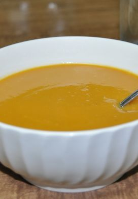 Miso Ginger Sweet Potato Soup