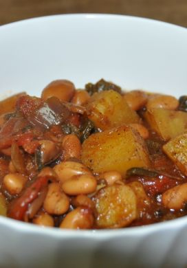 Peruvian Potato-Bean Stew