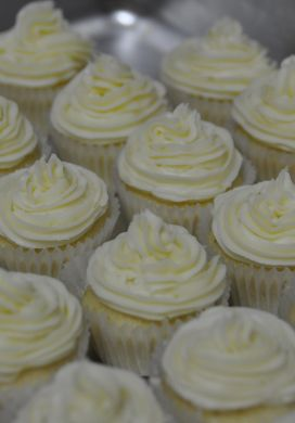Key Lime Mini Cupcakes