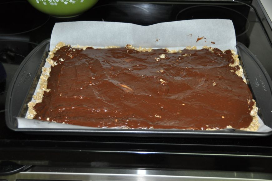 Fudge Oatmeal Bar Filling