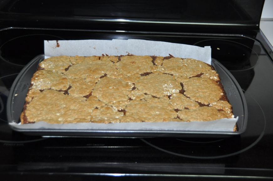 Fudge Oatmeal Bars