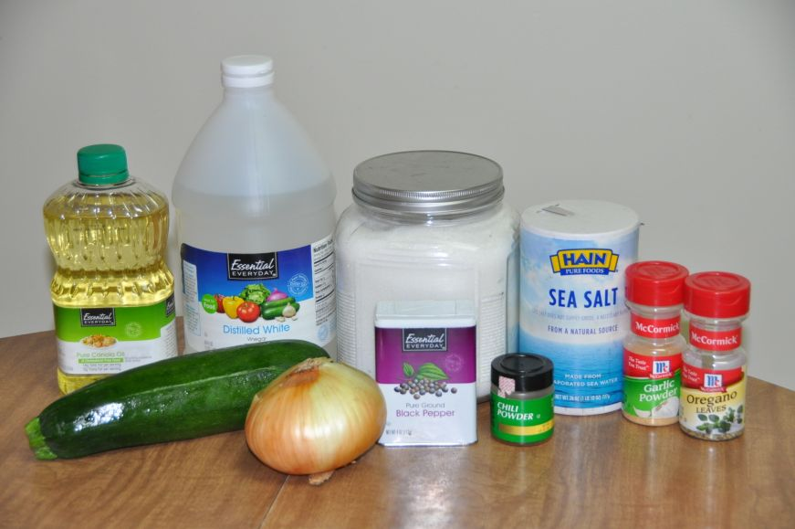 Fajita Zucchini Rice Bowls Marinade Ingredients