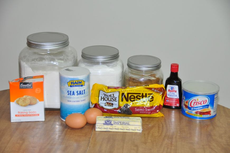 Mom's Chocolate Chip Cookies Ingredients