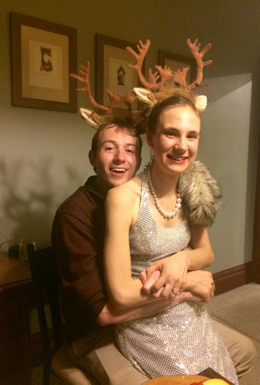Rudolph and Vixen