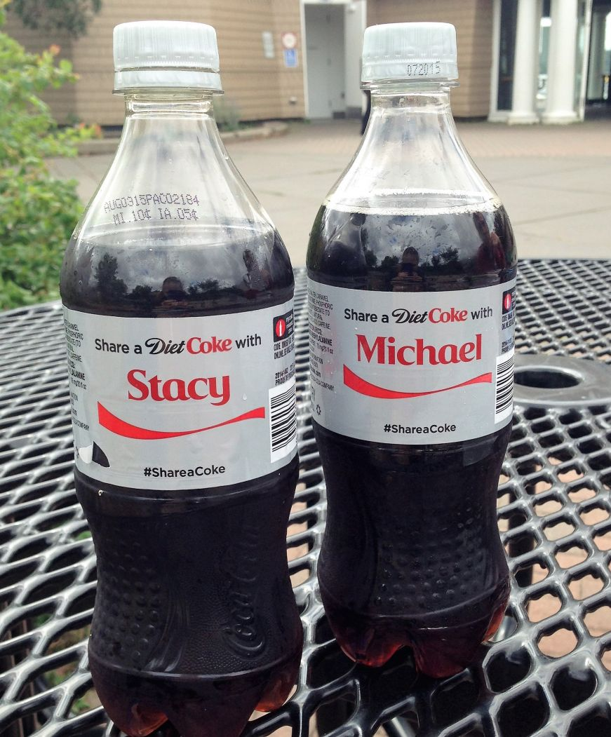 Personalized Diet Cokes