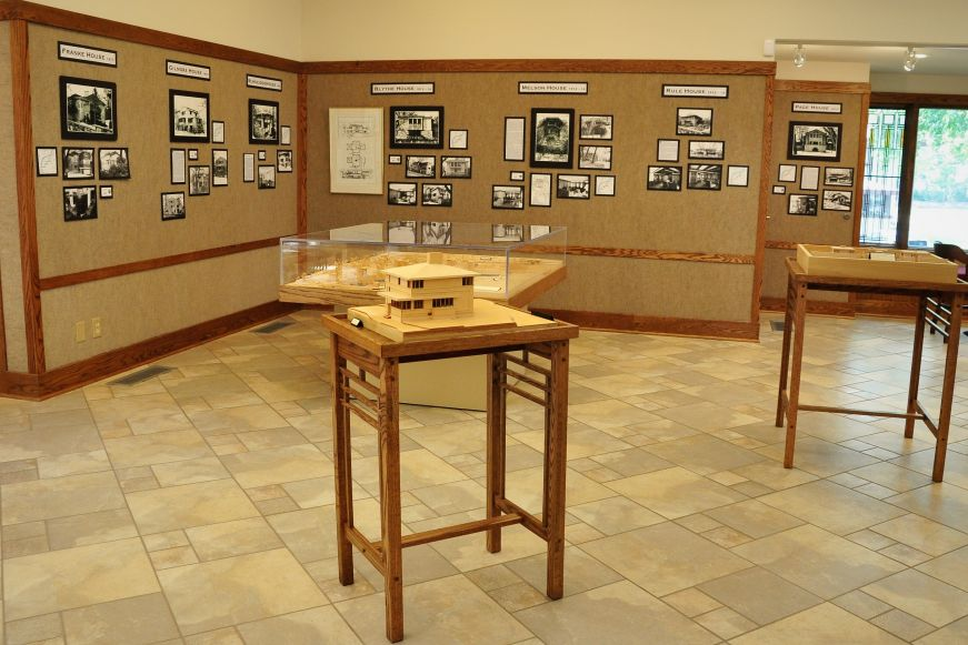Architectural Interpretive Center, Stockman House, Mason City, Iowa