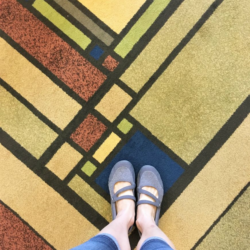 Carpet at Historic Park Inn, Mason City