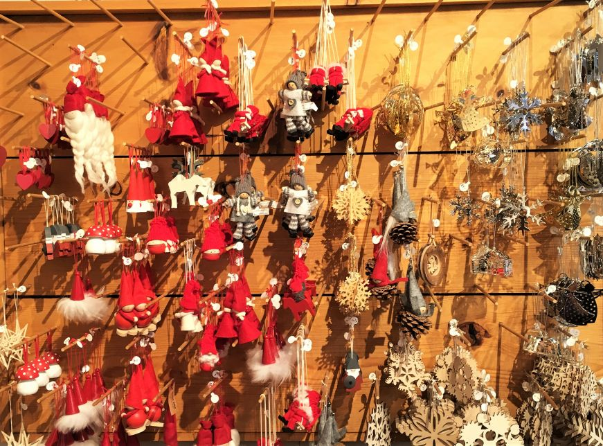 Christmas ornaments, Uffda Shop, Red Wing