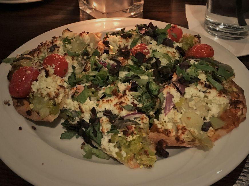 Flatbread at Jimmy's Pub, Red Wing