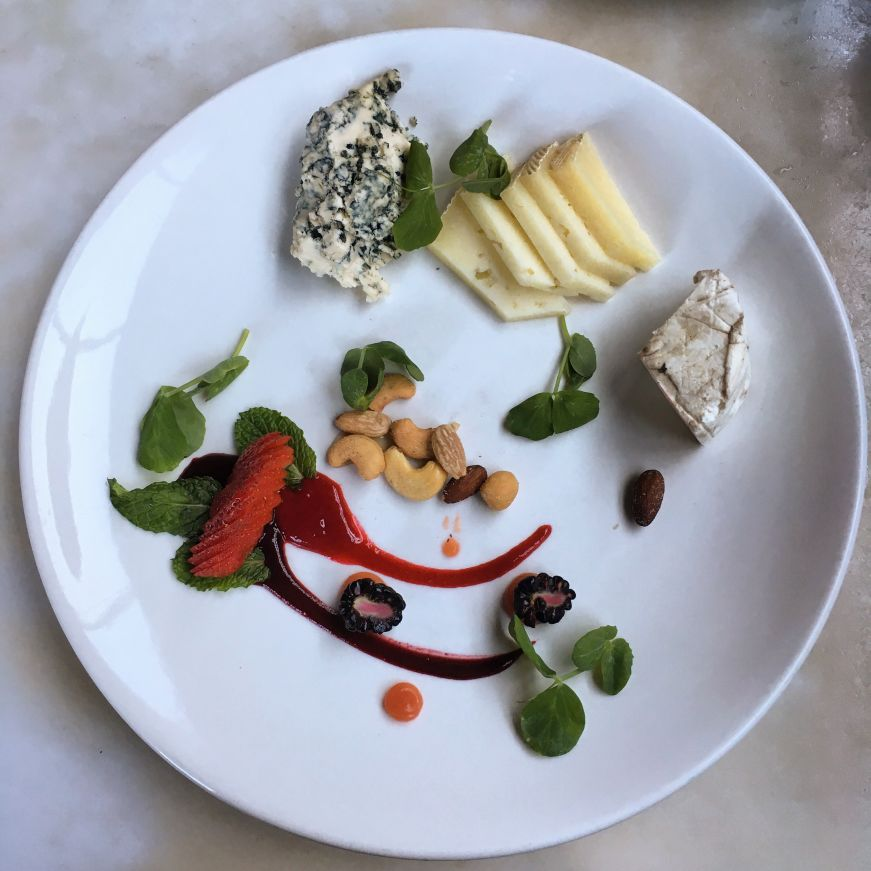 Cheese plate, W.A. Frost and Company
