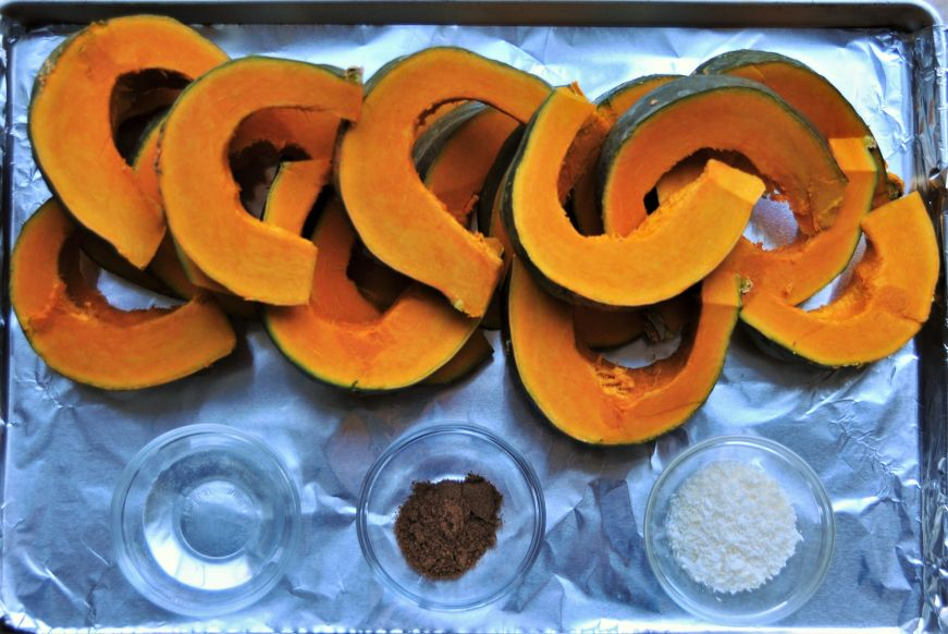 Roasted Buttercup Squash with Garam Masala Ingredients
