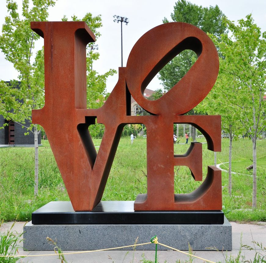 LOVE, Minneapolis Sculpture Garden