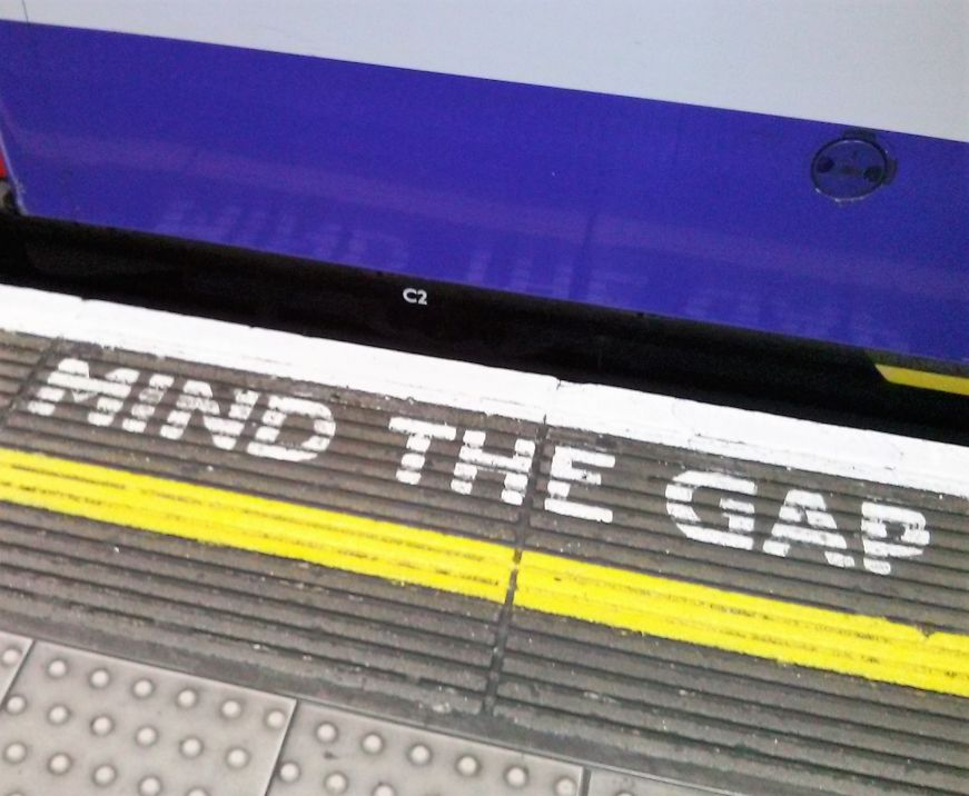 Mind the Gap, London Tube