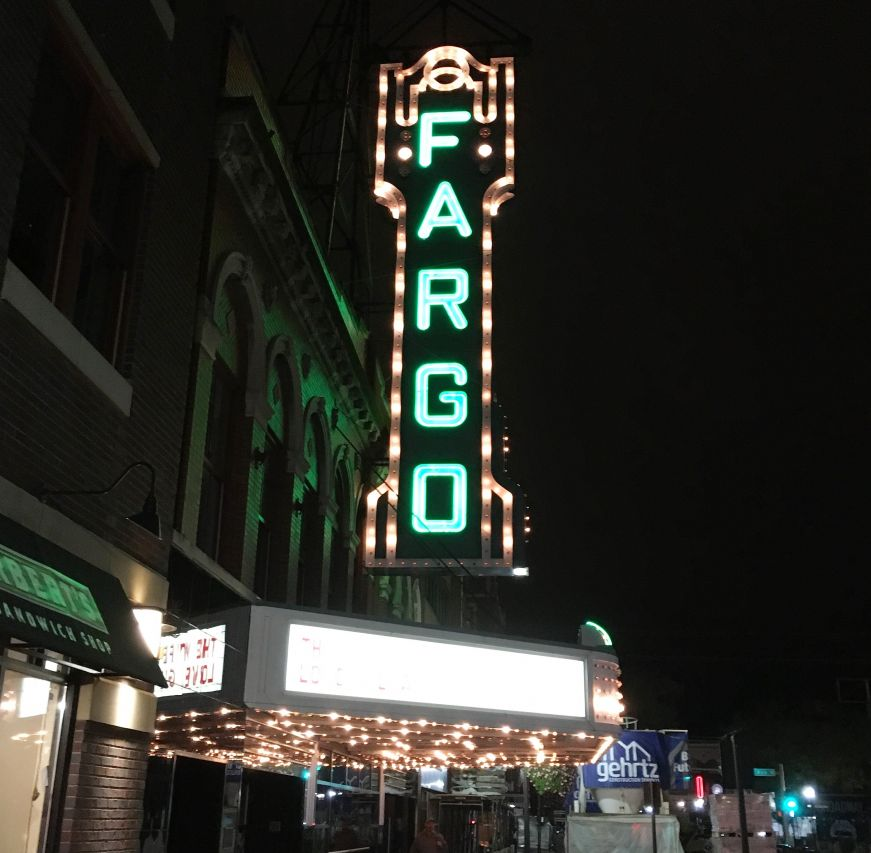 Fargo Theater neon sign