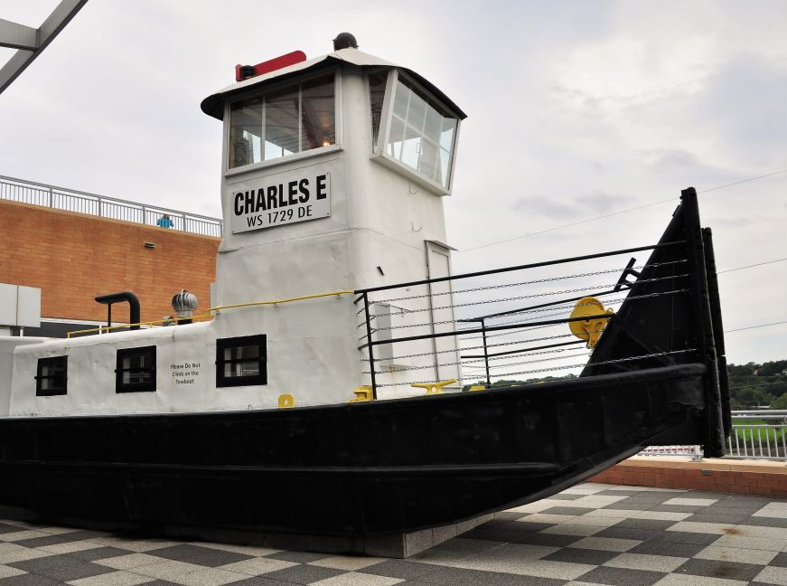 Towboat at the Science Museum of Minnesota