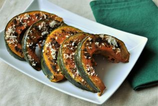 Roasted Buttercup Squash with Garam Masala
